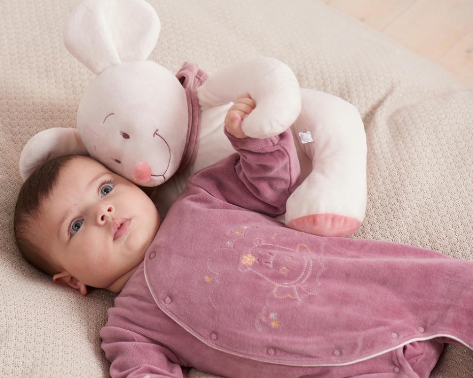 Pyjama Dragon Victoria Camelia - 3 mois